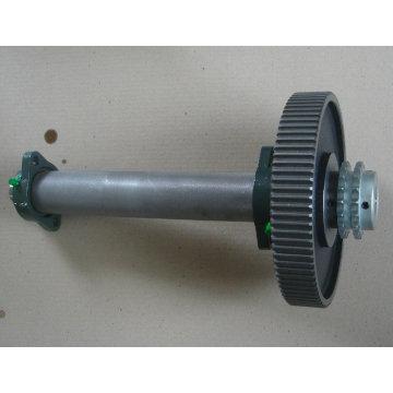 Productos de fundición / eje de rueda de engranaje OEM de alta calidad.