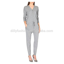 Cashmere knitted jumpsuits for women 2016