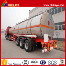 Tri Axle Aluminum Fuel Tank Semi Trailer