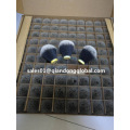 24 mm Tuxedo Black Synthetic Hair Knots