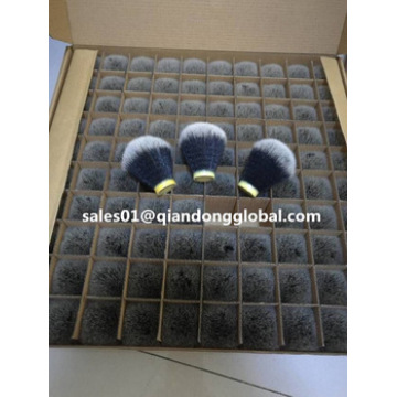 24mm Tuxedo Black Synthetic Hair Knots