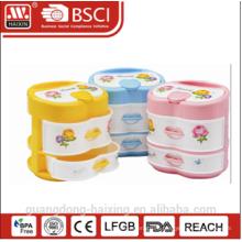 Красочные пластиковые ящиком (2 слоя)