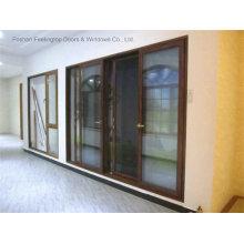 Самая последняя Конструкция алюминиевой двери для жилых (фут-Д126)