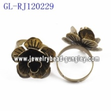 23mm jewelry findings ring bases