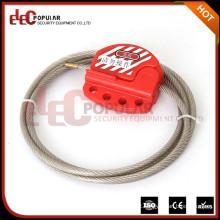 Produtos de Qualidade Elecpopular Selo de cabo Secuirty Wire Bloqueado com 4 cadeados