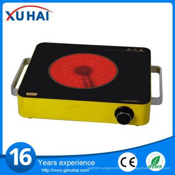 2016 calentador de venta caliente panel de cocina de cocina de inducción