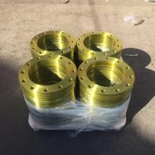 BS4504 PN10 Yellow Painting Steel Plate Flange