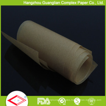 25FT Unbleached Brown Colour Parchment Paper Roll in Cutter Box