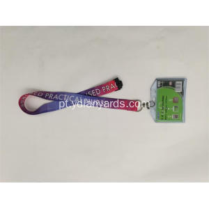 Venda quente Personalizado Badge Holder Neck Lanyard
