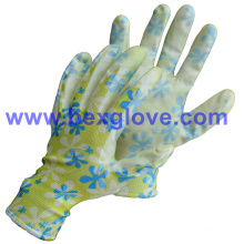 Flower Printed Pretty Fashion Glove