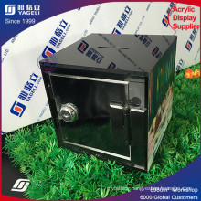 Very Popular Square Acrylic Donation Box Key Lock