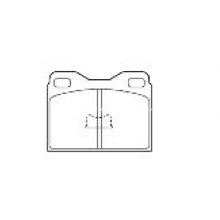 Volkswagen BMW Brake Pad Semi Metal