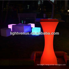 fresh launched remote control color changing factory direct sale rechargeable led bar unit bar furniture