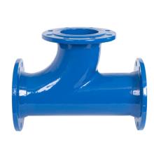 Conexões de tubo em T de soquete de ferro dúctil estilo Y