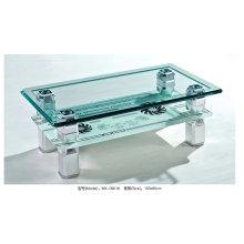 Современный дизайн стекла журнальный столик (MX-0901)
