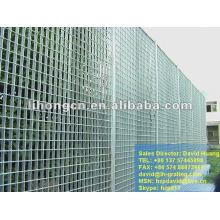 galvanized metal lattice panel