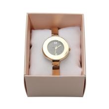 Top venda senhora japão movt tendência projeto quartzo relógio fac-símile para as mulheres