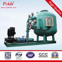 Bypass da tubulação que circula o processador da água para o sistema da troca do calor