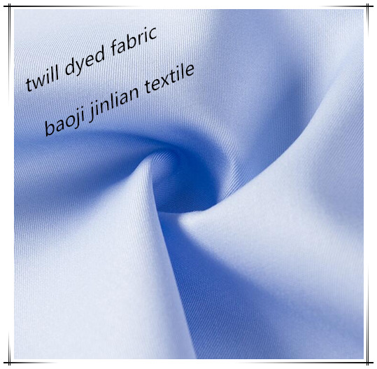 T 80 C 20 Mixed Woven Twill Dyed Workwear Fabric