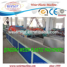 wpc door making machine system of wood powder machine