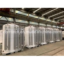 2.4MPa Pressure Liquid Oxygen Capacity Micro Bulk/Mini Tanks