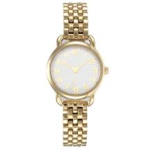 Senhoras clássicas 316l pulseira de aço inoxidável relógio