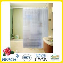 PVC, cortina de chuveiro de EVA