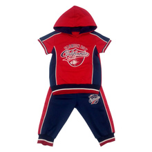 Fashion Summer Boy Kids Sport Suit Wear in Children ′s Clothes for Apparel Ssb-116