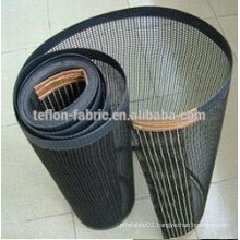 ptfe teflon fabirc wire mesh conveyor belt with kevlar border