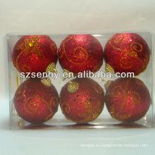percha bola de navidad, bola de navidad