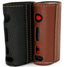 Prix en usine E-Cig Mod Box Topbox Mini étui en cuir OEM Disponible