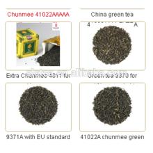 Melhor sabor e chá chunmee cha chi de alta qualidade chá verde