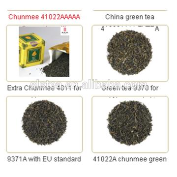 Best taste and high grade cha chai tea chunmee green tea