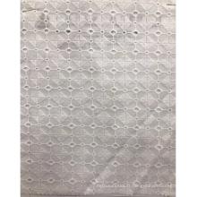 Tissu à broder en coton à prisme carré
