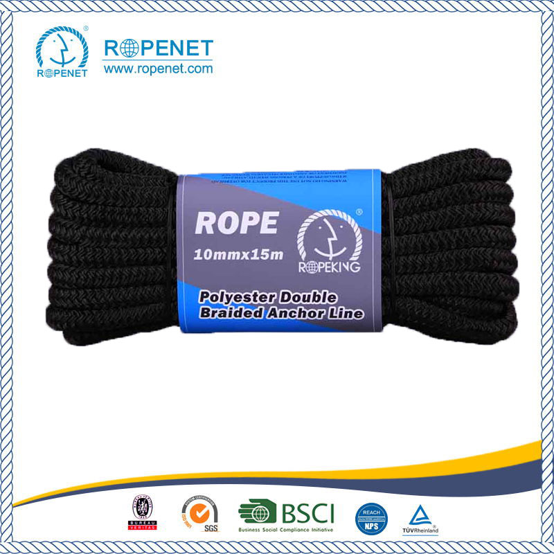 Double Braid Polyester Rope For Marine China Manufacturer
