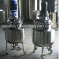 Pl Stainless Steel Jacket Emulsification Mixing Tank Oil Blending Machine Mixer Sugar Solution Industry Stand Mixer