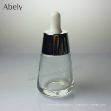 35ml botella de cristal de forma redonda diseño único para el perfume