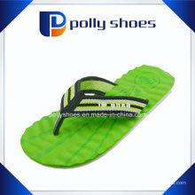Neue Männer Wellenförmige Gummi Flip Flop Thong Sandale Größe 40