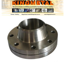 """DIN1.4571 4"""" Stainless Steel Forged Wlded Neck Raise Face Flange"""