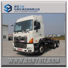 420HP Hino 700 6X4 Camión de remolque