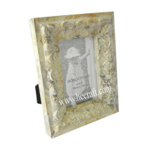 Gesso /Compo Jewels Wooden Photo Frame