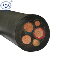 Mais popular yzw h05rnh2-f h07vvh2-f 16mm 5 núcleo flexível cabo h07rn-f 3g1.5