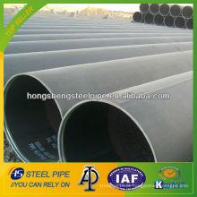 Astm a53 ERW tubo de aço carbono tubo de comprimento aleatório