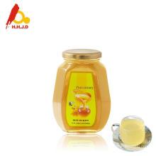 Le meilleur miel d'abeille de linden cru non traité