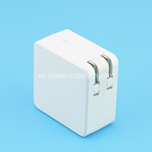 Mini adaptador de corriente plegable de 12V 2A EE. UU.