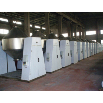 iron red oxide conical vacuum dryer