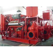 Liste UL pompes centrifuges électriques et diesel à pompes centrifuges avec pompes jockey