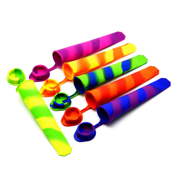 2016 Viagens Silicone Ice Sticks Mold com Tampa