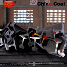 Precio del carril de acero del ferrocarril de la alta calidad 30kg