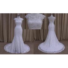 Vestidos de novia de mujer blanca